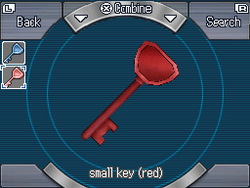 Small key (red)