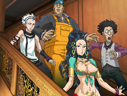 Characters stairs 1