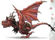 NG2 Art Enemy Dragon Demon