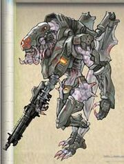 NG2 Art Enemy Mecha Soldier