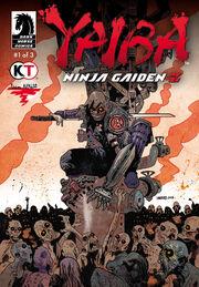 Yaiba - Ninja Gaiden Z 001 Cover