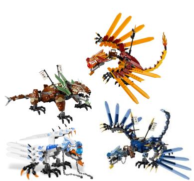 Lego Ninjago Dragon Dragons
