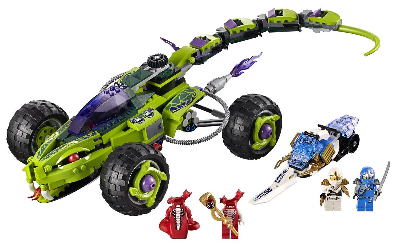 9445 fangpyre truck ambush ninjago wiki fandom powered - Serpent lego ninjago ...