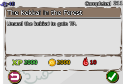 The Kekkai in the Forest fixed