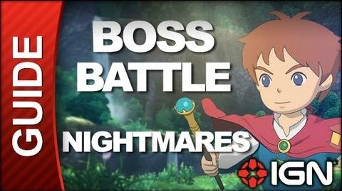 Ni No Kuni Wrath of the White Witch - Boss Battle Strategy Nightmares