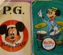 Disney playing cards