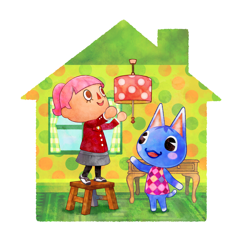 Animal Crossing: Happy Home + Lector + Tarjeta