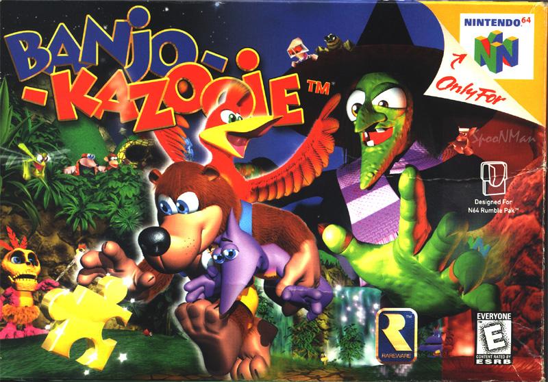 Banjo-Kazooie | Nintendo | FANDOM powered by Wikia
