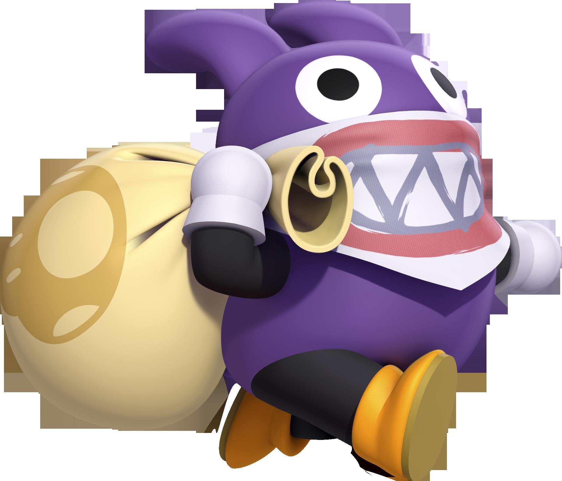 Image Nsmbu Nabbit Png Nintendo Fandom Powered By Wikia