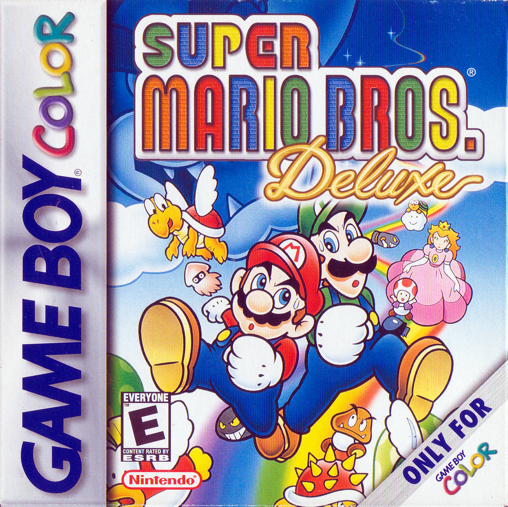 Game boy color super mario bros deluxe - Game Boy Color Super Mario Bros Deluxe 9