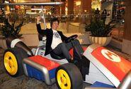 LA Auto Show Mario Kart 3