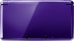 Midnight Purple 3DS closed