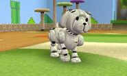 Robopup Gray and White