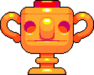 LeapDay trophy gold