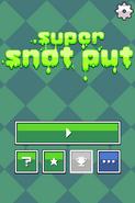 Super Snot Put Titlescreen