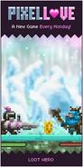 Loot hero Pixel love