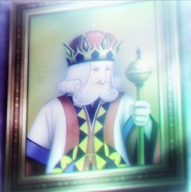 Portrait former king