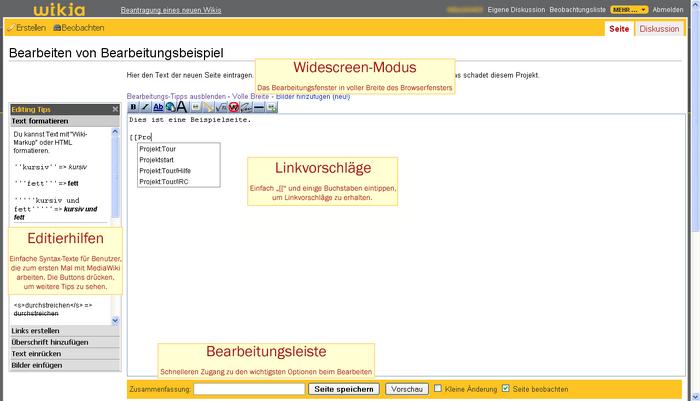 Edit Page Enhancements