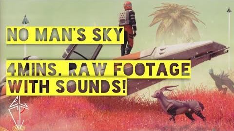 ►No Man's Sky 4 mins. Just RAW Gameplay Footage with Sounds! HQ