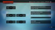Controls options