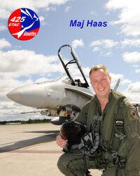 MAJ Haas – Dec 2010.jpg