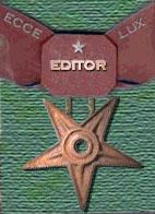 Editor - bronze star