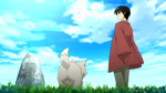 Tamazauki and the dog