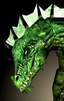Dragon green