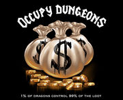 Occupy dungeons 1