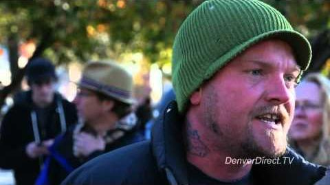 Occupy Denver 11-3-11 Poetry - Livin' in the Land Where the Whip Still Cracks - by Noah Gauthier