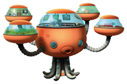 Image Octopod Png Octonauts Fanon Wiki Fandom Powered By Wikia