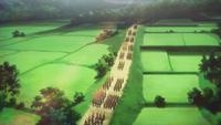 Imagawa army advancing
