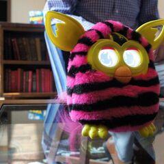 Furby Boom - Pink and Black Stripes