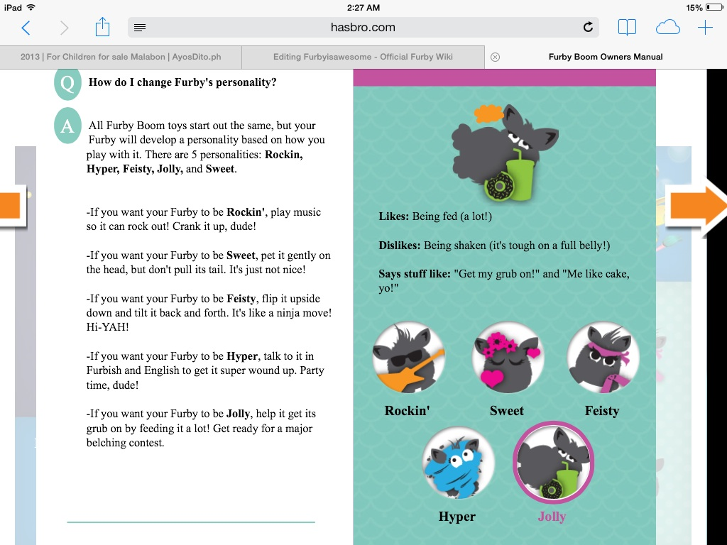 Image - Image how to change your furby boom's personality ...
