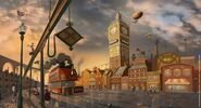 Steampunk London
