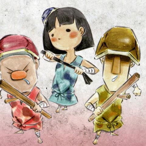 The children who bullied Urashima.