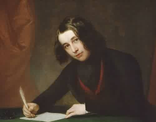Charles Dickens Young Charles Dickens 1842 Painted