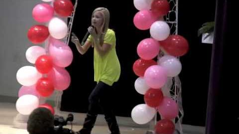 I Will Survive Olivia Holt school talent show