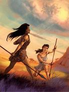 Athena and Pallas