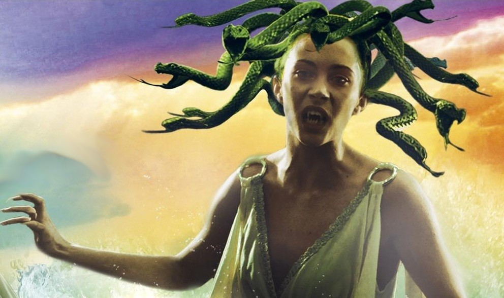 In Greek mythology Medusa was a gorgon with venomous snakes in ...