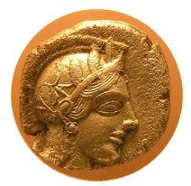 Tetradrachma from Athens