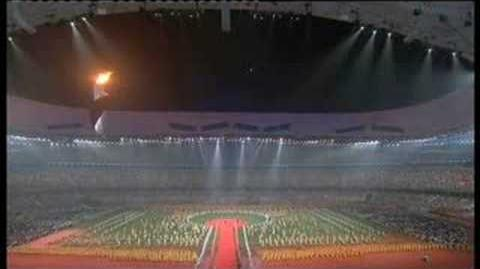 Beijing 2008 to London 2012 - official Paralympic handover moment (part 1)