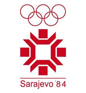 1984 sarajevo logo
