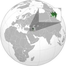 AzerbaijanLocation