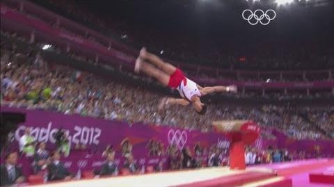 Hak-Seon Wins Men's Vault Gold - London 2012 Olympics
