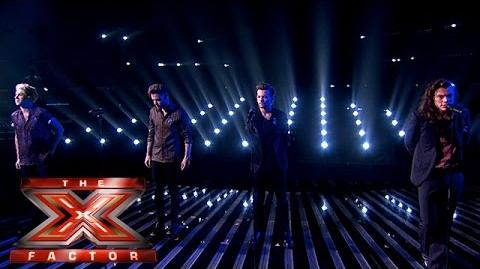 One Direction make Perfect return Week 3 Results The X Factor 2015