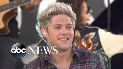 One Direction DRAG ME DOWN Official Live Performance on GMA