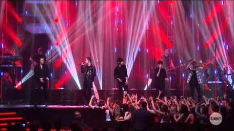 One Direction - Steal My Girl - ARIA Awards Australia 2014-0