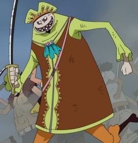 Делакуахи в аниме