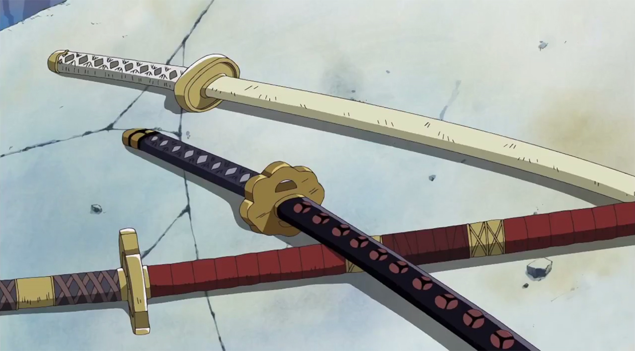 One Piece 3 inflatable swords Zoro - Obyz